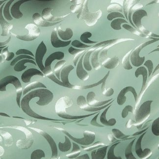 Vaalean minttu kangas