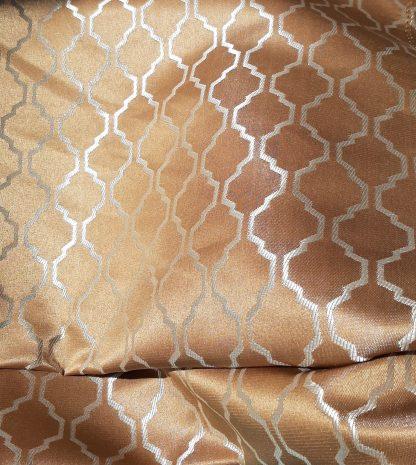 kultainen verhokangas marokko